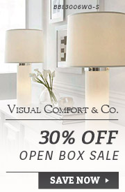 Visual Comfort | 30% Off Open Box