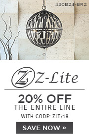 Z-Lite | Light The Way Home | 20% OFF The Entire Line with code: ZLT718