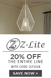 Z-Lite | 20% OFF The Entire Line | with code: ZLT1018