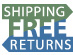 FREE Shipping on all product for the contiguous United States. FREE Returns* on all non-freight items.