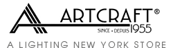 Artcraft Lighting at Lighting New York. A Lighting New York store and authorized Artcraft Lighting dealer.
