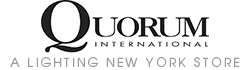 Quorum Lighting Lights. A Lighting New York store and authorized Quorum International dealer.