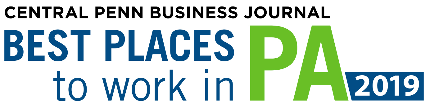 Central Penn Business Journal Best Places to work in PA 2019
