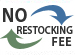 No Restocking Fee on products by Hinkley