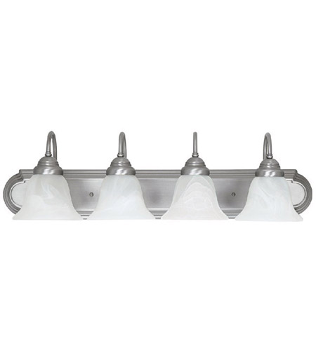 41ELIZABETH 46464-MNFW Booker 4 Light 30 inch Matte Nickel Vanity Light Wall Light