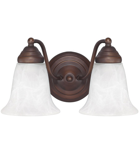 41ELIZABETH 46468-BBWF Booker 2 Light 12 inch Burnished Bronze Vanity Light Wall Light