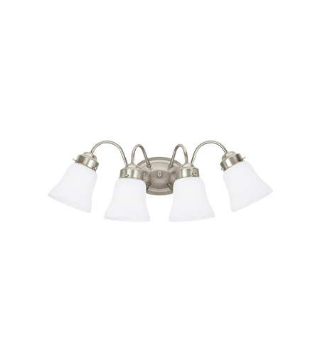 41ELIZABETH 43240-BNSW Avalon 4 Light 24 inch Brushed Nickel Wall Bath Fixture Wall Light