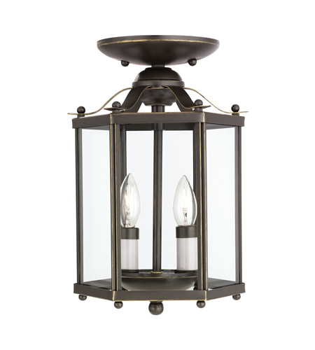 41ELIZABETH 40494-HB April 2 Light 7 inch Heirloom Bronze Pendant Convertible Ceiling Light 5232EN-782_Alt01.jpg
