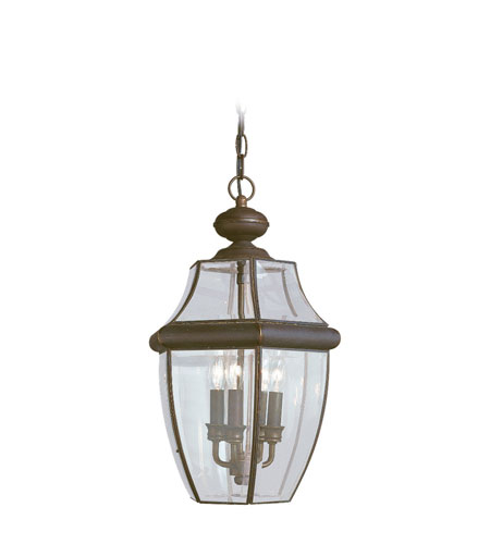41ELIZABETH 40407-AB Tonya 3 Light 12 inch Antique Bronze Outdoor Pendant photo thumbnail