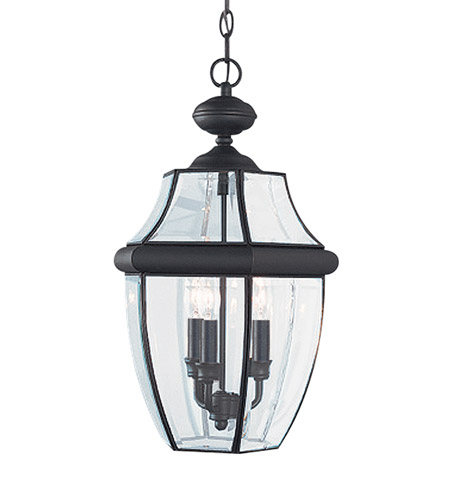 41ELIZABETH 41056-BCC Tonya 3 Light 12 inch Black Outdoor Pendant photo thumbnail