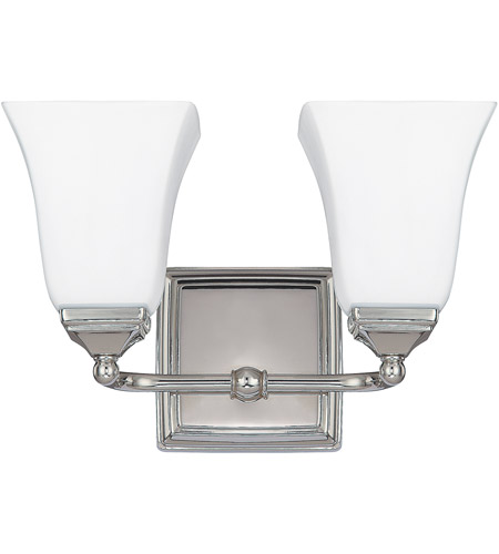 41ELIZABETH 46577-PNSW Booker 2 Light 13 inch Polished Nickel Vanity Light Wall Light
