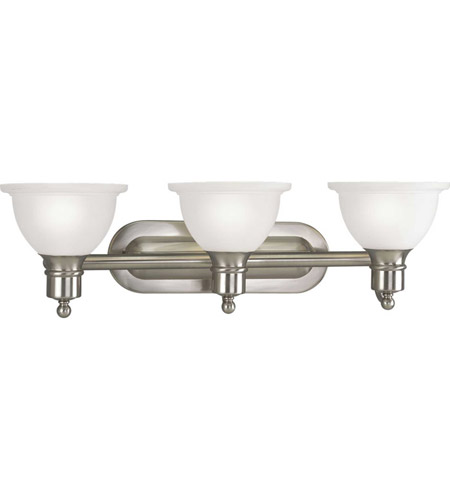 41ELIZABETH 41640-BNE Beacher 3 Light 28 inch Brushed Nickel Bath Vanity Wall Light