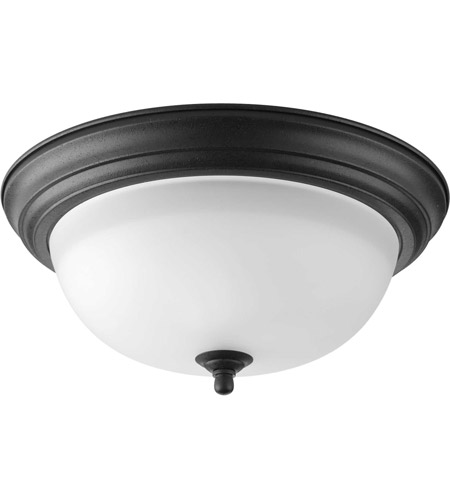 41ELIZABETH 41465-FBEG Adelmo 2 Light 13 inch Forged Black Flush Mount Ceiling Light