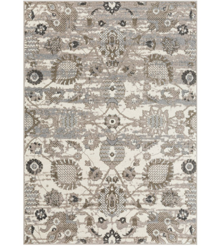 41ELIZABETH 47857-CG Aloysia 35 X 24 inch Camel/Taupe/Medium Gray/Charcoal/Ivory Rugs, Rectangle