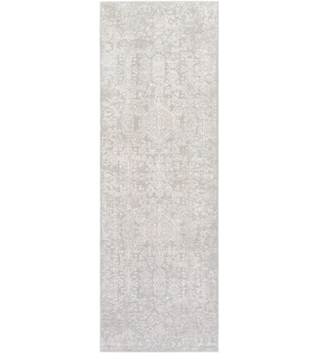 41ELIZABETH 48022-LG Ainsley 180 X 144 inch Light Gray/White Rugs