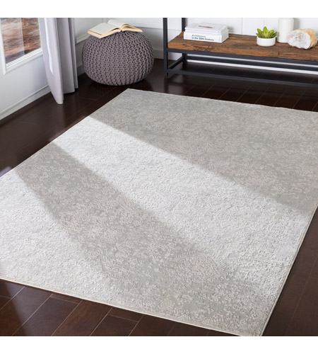 41ELIZABETH 48022-LG Ainsley 180 X 144 inch Light Gray/White Rugs ais2306-roomscene_201.jpg