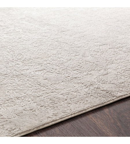 41ELIZABETH 48022-LG Ainsley 180 X 144 inch Light Gray/White Rugs ais2306-texture.jpg