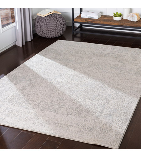41ELIZABETH 48031-LG Ainsley 168 X 120 inch Light Gray/White Rugs ais2307-roomscene_201.jpg