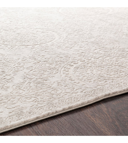 41ELIZABETH 48031-LG Ainsley 168 X 120 inch Light Gray/White Rugs ais2307-texture.jpg
