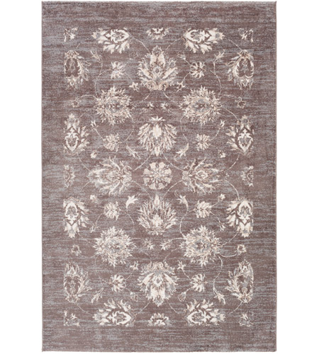 41ELIZABETH 48224-MG Acton 36 X 24 inch Medium Gray/Cream/Taupe/White Rugs, Polyester