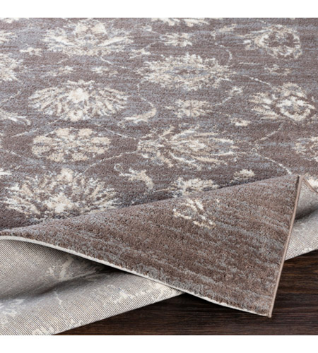 41ELIZABETH 48224-MG Acton 36 X 24 inch Medium Gray/Cream/Taupe/White Rugs, Polyester apy1011-fold.jpg
