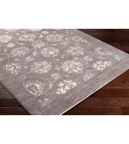 41ELIZABETH 48224-MG Acton 36 X 24 inch Medium Gray/Cream/Taupe/White Rugs, Polyester apy1011_corner.jpg