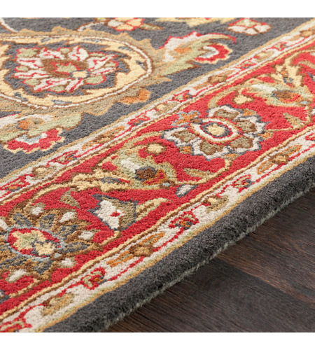 41ELIZABETH 48681-BR Arlo 156 X 108 inch Bright Red/Charcoal/Mustard/Dark Brown/Olive/Tan Rugs, Rectangle awhy2061-texture.jpg