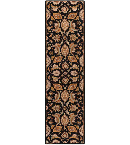 41ELIZABETH 48779-BG Arlo 72 X 48 inch Black/Camel/Khaki/Medium Gray/Olive/Burgundy Rugs, Rectangle