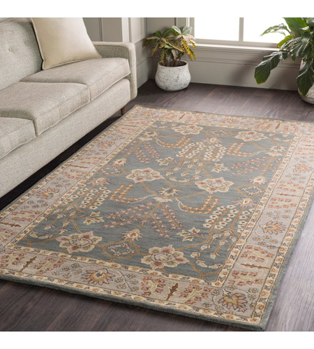 41ELIZABETH 48794-TG Arlo 72 X 72 inch Teal/Taupe/Cream/Olive/Camel/Charcoal/Dark Green Rugs, Round awmd2242-roomscene_201.jpg