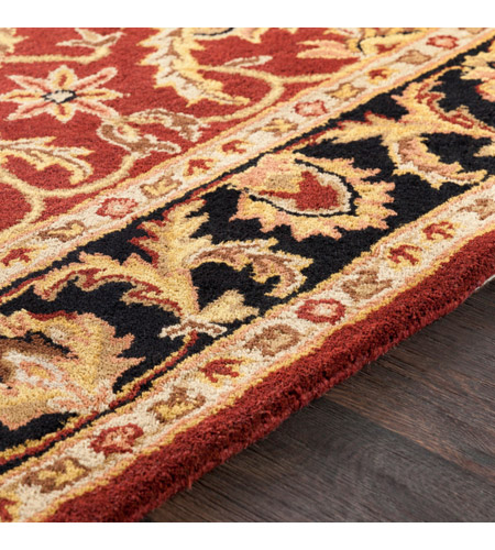 41ELIZABETH 48816-DB Arlo 156 X 108 inch Dark Brown/Mustard/Black/Clay Rugs, Rectangle awoc2001-texture.jpg