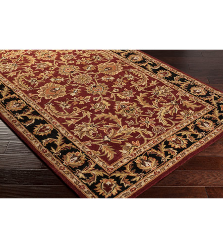 41ELIZABETH 48816-DB Arlo 156 X 108 inch Dark Brown/Mustard/Black/Clay Rugs, Rectangle awoc2001_corner.jpg