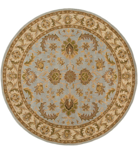 41ELIZABETH 44585-SF Arlo 42 X 42 inch Sea Foam Indoor Area Rug, Round