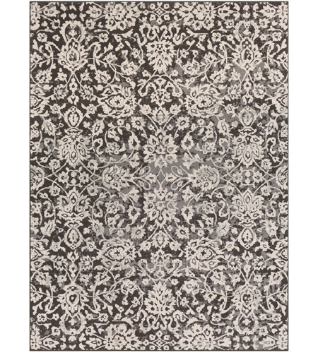 41ELIZABETH 48893-MG Aqualina 35 X 24 inch Medium Gray/Charcoal/Beige/Taupe Rugs, Rectangle
