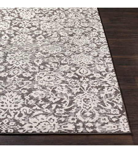 41ELIZABETH 48893-MG Aqualina 35 X 24 inch Medium Gray/Charcoal/Beige/Taupe Rugs, Rectangle bhr2300-front.jpg