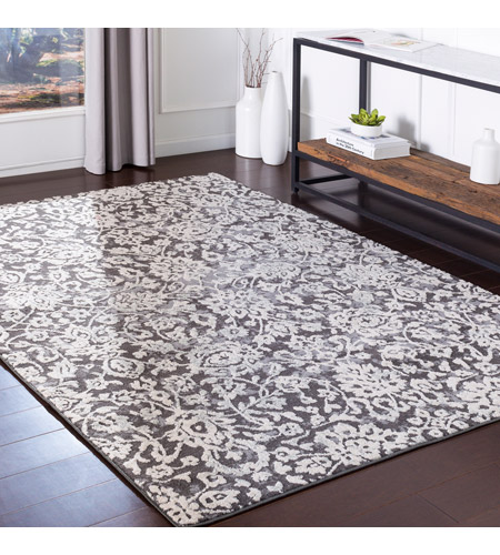 41ELIZABETH 48893-MG Aqualina 35 X 24 inch Medium Gray/Charcoal/Beige/Taupe Rugs, Rectangle bhr2300-roomscene_201.jpg