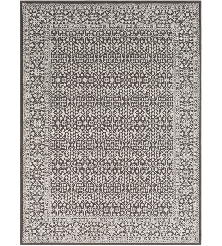 41ELIZABETH 48908-C Aqualina 35 X 24 inch Charcoal/Taupe/Beige Rugs, Rectangle