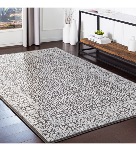 41ELIZABETH 48908-C Aqualina 35 X 24 inch Charcoal/Taupe/Beige Rugs, Rectangle bhr2309-roomscene_201.jpg