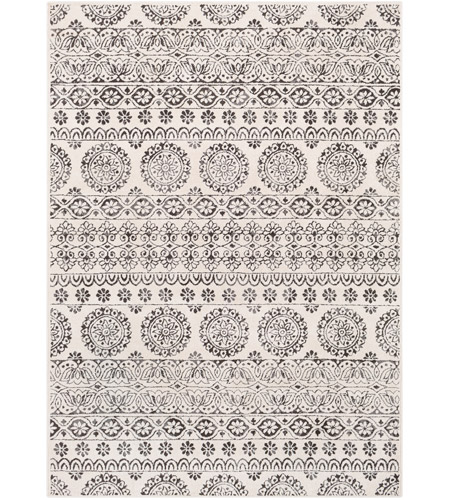 41ELIZABETH 48932-CG Aqualina 35 X 24 inch Charcoal/Beige/Medium Gray Rugs