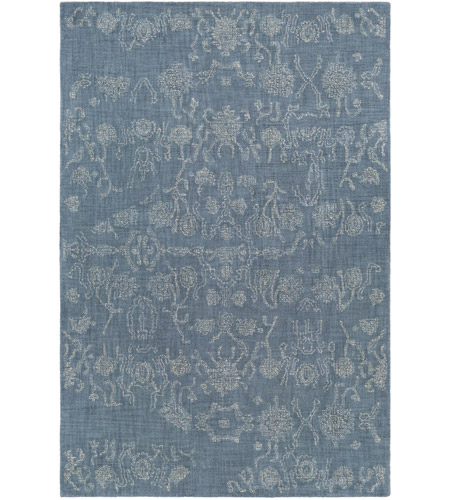 41 Elizabeth 42425 By Mercer 36 X 24 Inch Blue And Yellow Area Rug Wool