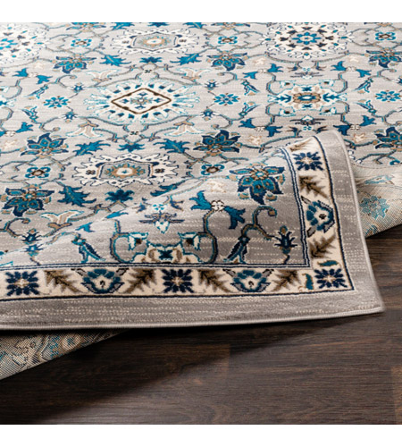 41ELIZABETH 50915-MG Amanda 67 X 47 inch Medium Gray/Sky Blue/Navy/Camel/Dark Brown/Ivory Rugs, Rectangle cmt2302-fold.jpg