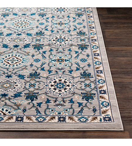41ELIZABETH 50915-MG Amanda 67 X 47 inch Medium Gray/Sky Blue/Navy/Camel/Dark Brown/Ivory Rugs, Rectangle cmt2302-front.jpg
