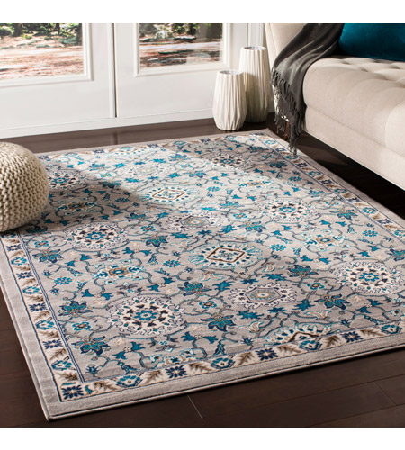 41ELIZABETH 50915-MG Amanda 67 X 47 inch Medium Gray/Sky Blue/Navy/Camel/Dark Brown/Ivory Rugs, Rectangle cmt2302-roomscene_201.jpg