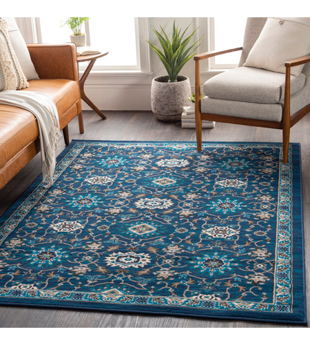 41ELIZABETH 50920-NB Amanda 67 X 47 inch Navy/Sky Blue/Camel/Dark Brown/Medium Gray/Ivory Rugs, Rectangle cmt2303-roomscene_201.jpg