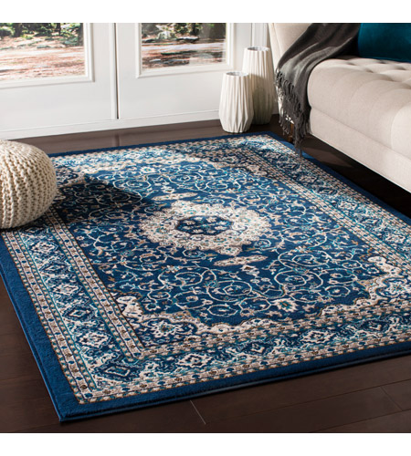 41ELIZABETH 50936-NB Amanda 87 X 63 inch Navy/Sky Blue/Dark Brown/Camel/Medium Gray/Ivory Rugs, Rectangle cmt2309-roomscene_201.jpg