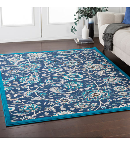 41ELIZABETH 50965-NB Amanda 67 X 47 inch Navy/Sky Blue/Camel/Medium Gray/Dark Brown/Ivory Rugs, Rectangle cmt2318-roomscene_201.jpg