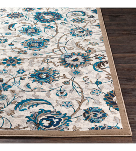 41ELIZABETH 50969-CB Amanda 35 X 24 inch Camel/Sky Blue/Dark Brown/Navy/Medium Gray/Ivory Rugs, Rectangle cmt2319-front.jpg