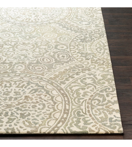 41ELIZABETH 51470-T Arcadicus 36 X 24 inch Taupe/Cream/Moss/Sage Rugs, Rectangle csi1005-front.jpg