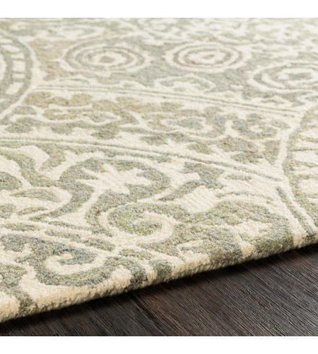 41ELIZABETH 51470-T Arcadicus 36 X 24 inch Taupe/Cream/Moss/Sage Rugs, Rectangle csi1005-texture.jpg