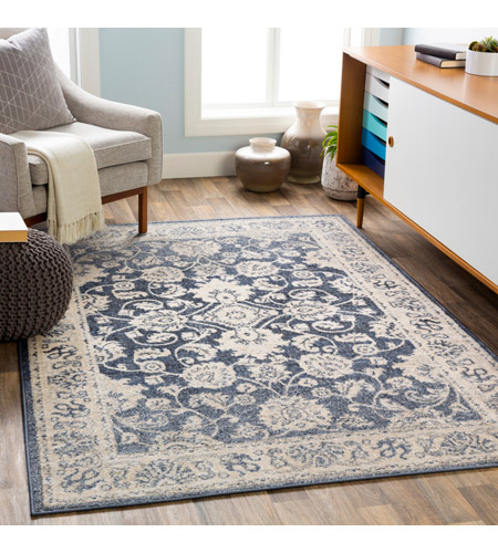 41ELIZABETH 51587-DG Aquamarine 87 X 63 inch Denim/Light Gray/Wheat/Charcoal/Black/Cream Rugs cyl2306-roomscene_201.jpg