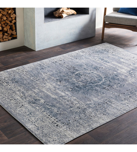 41ELIZABETH 51799-MG Ademaro 35 X 24 inch Medium Gray/Khaki/Charcoal/Black Rugs, Polypropylene and Chenille dur1002-roomscene_201.jpg